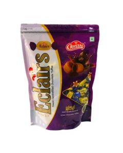 Crystal Classic Eclairs Chocolate Toffee - 750g
